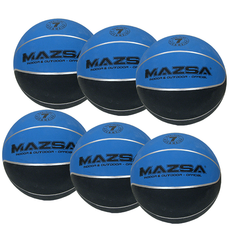Basketboll Mazsa Plus 7, Storpack 6 st