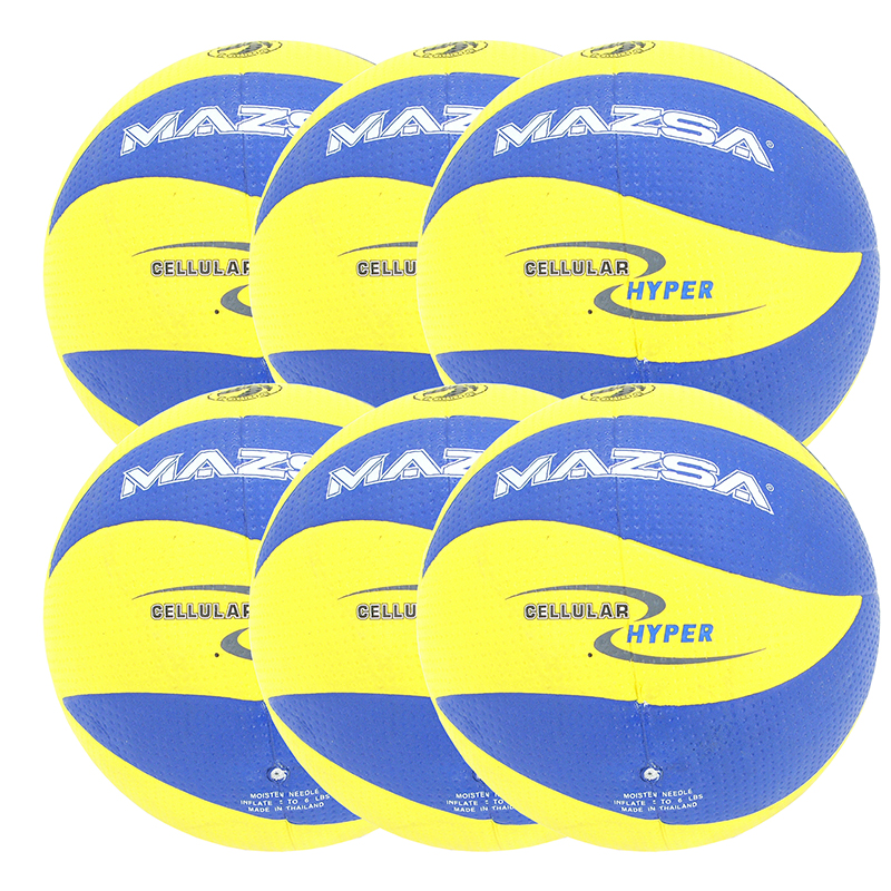 Volleyboll Mazsa Hyper-cellular, 6 st/fp